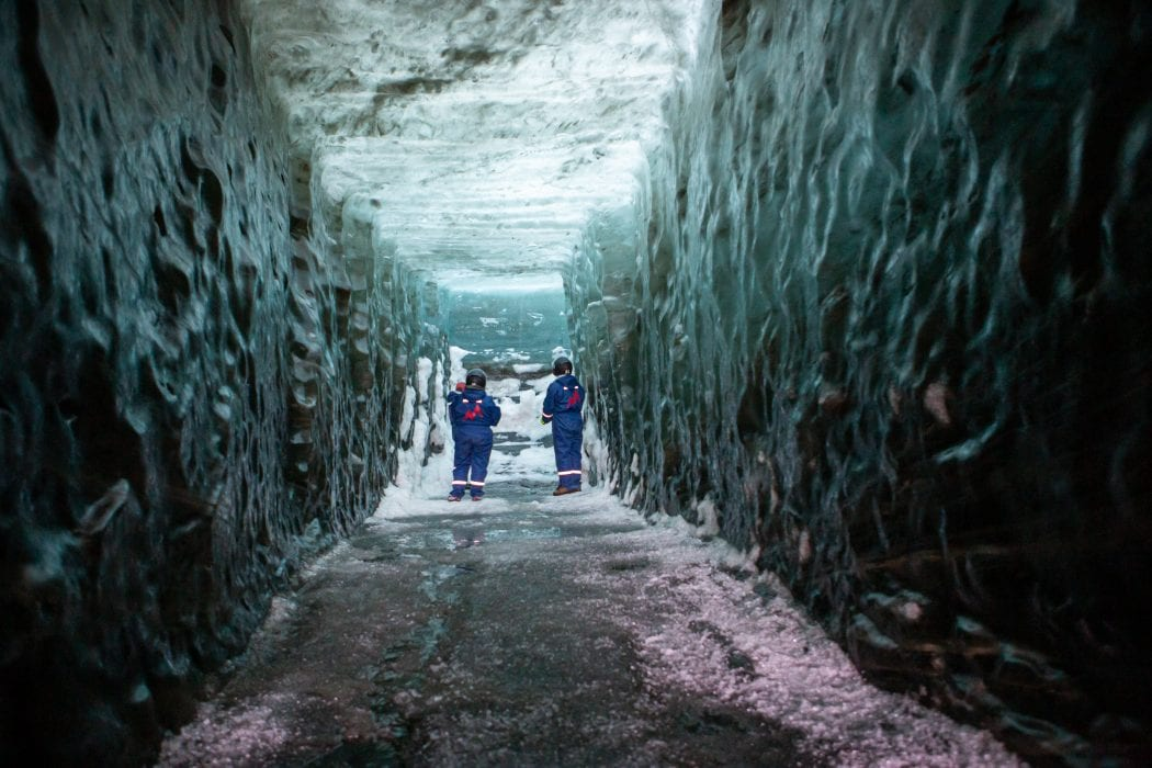 Snowmobile and Ice Cave Tour in Iceland